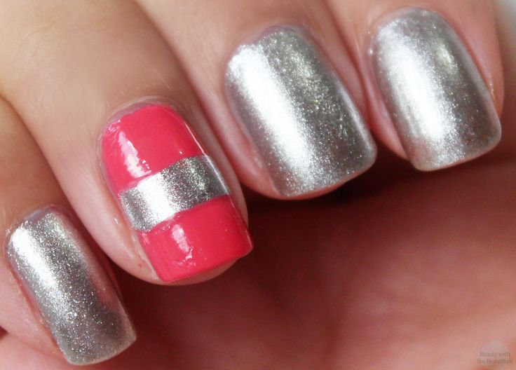 Easy Nail Art Designs With Two Colors - To Bend Light
