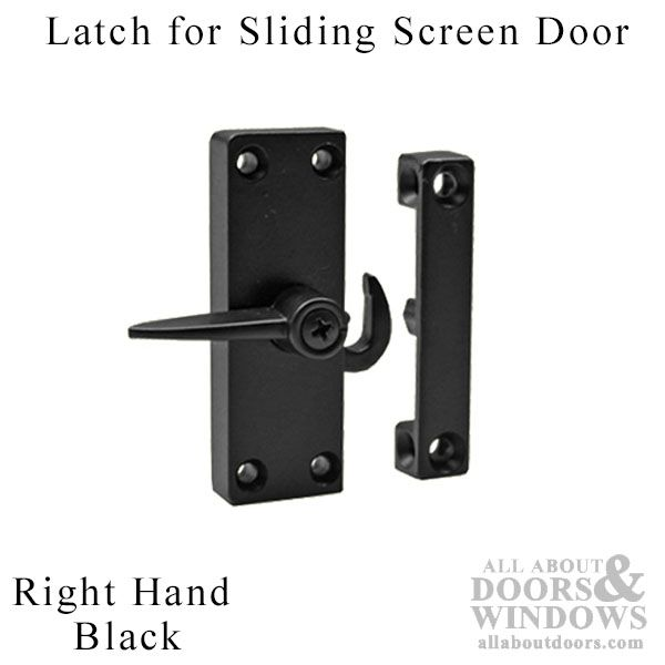 Right Hand Surface Mount Latch for Sliding Screen Door