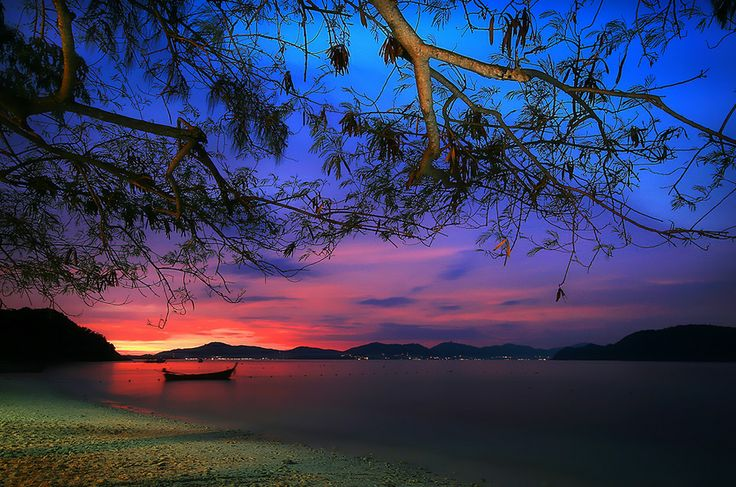 Fire on the Horizon by Thanes G.,
