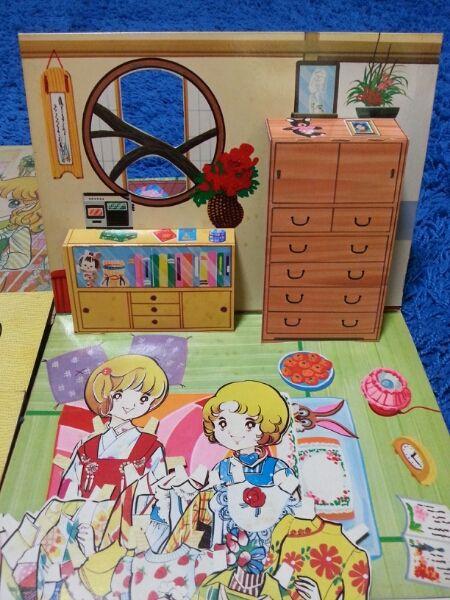 ☆1970年代☆昭和☆紙☆着せ替え☆人形☆レトロ☆_画像2