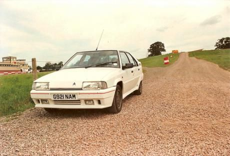 Citroen BX 16V GTI Picture is not my actual car but had one of these, in white, for company car, Reg H971 ??? I think. Fantastic motor with 160bhp and revved right round the clock, came on cam at about 4000rpm. Only had it about 7 months from new and probably the most unreliable car I have ever driven! But when it was running it was great fun. #Citroen #BX