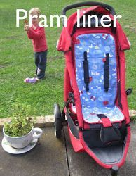 How to make...A pram liner by sewpony. FREE PATTERN!