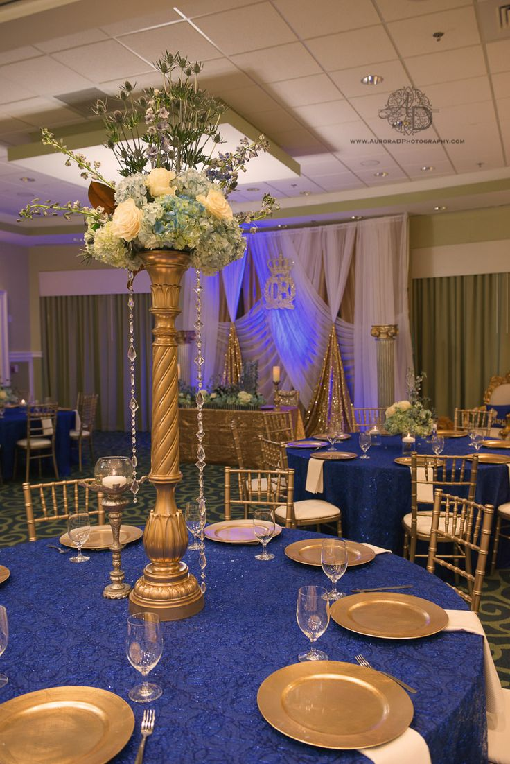 Tall Regal Centerpieces For Royal Themed Baby Shower. Royal Themed Baby  Shower. Itu0027s A