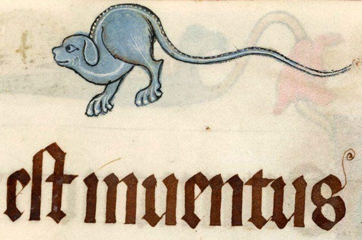 Luttrell Psalter, England ca. 1325-1340 (British Library, Add 42130, fol. 73r)