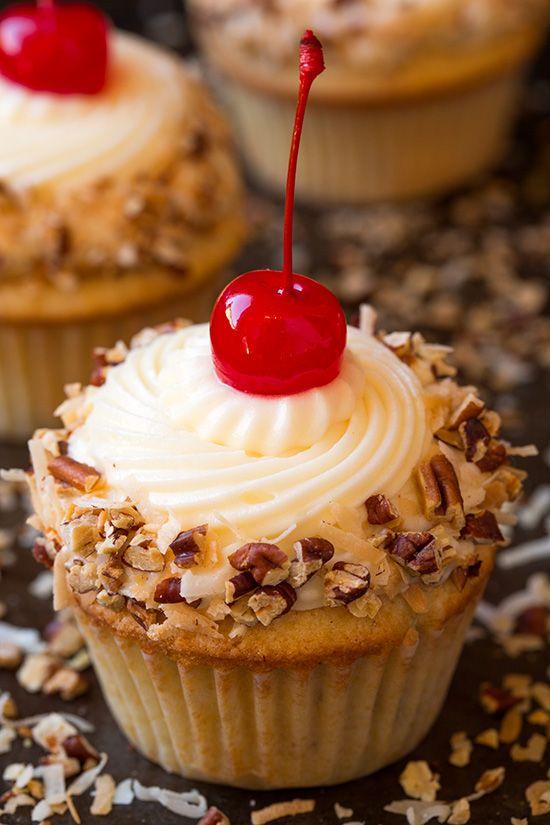 Italian Cream Cupcakes - Cooking Classy http://www.cookingclassy.com/2015/03/italian-cream-cupcakes/