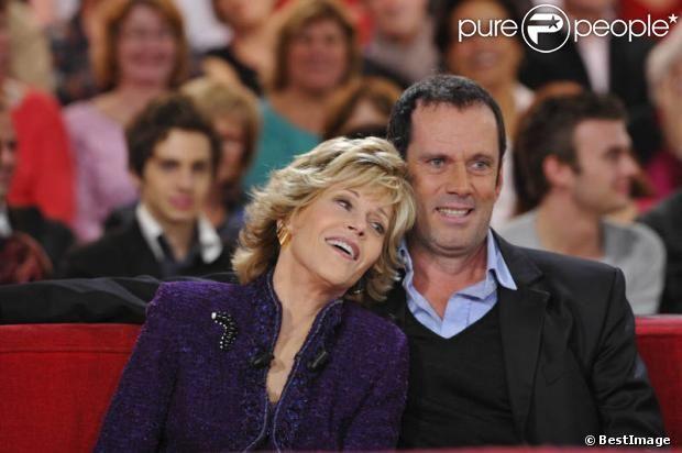 Emouvantes retrouvailles pour Jane Fonda et Christian Vadim
