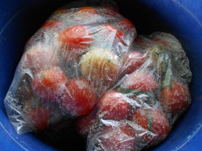 Помидоры сухого посола на зиму | Заготовка помидоры,огурцы | Постила