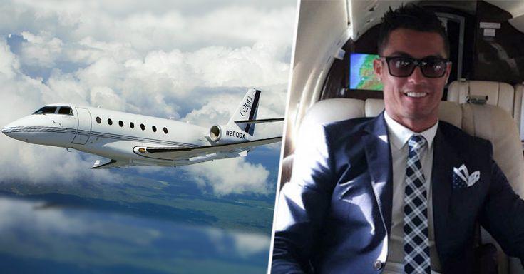 Cristiano Ronaldo se ha comprado un avión de 19 millones de euros. Se trata del Gulfstream G200, y lo estrenó precisamente para acudir al estreno de su película.