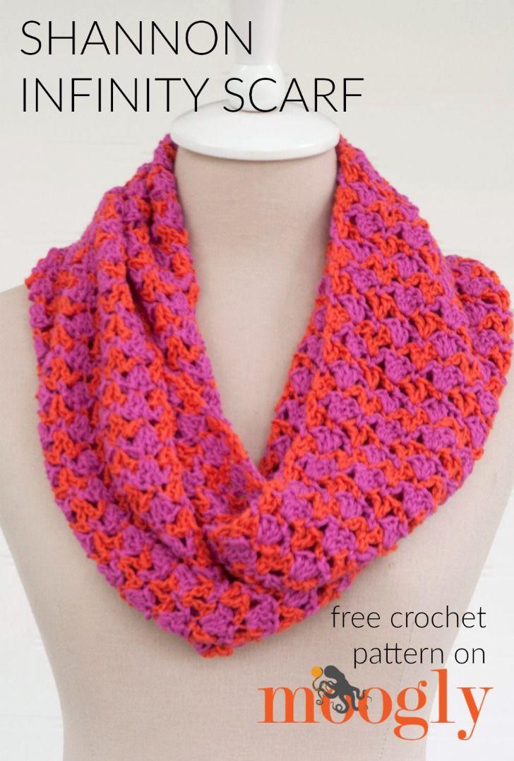 Shannon Infinity Scarf Free Crochet Pattern On