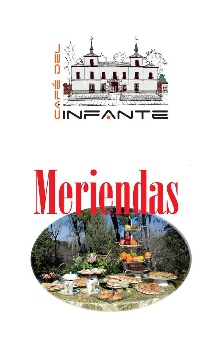 Cartel Meriendas.