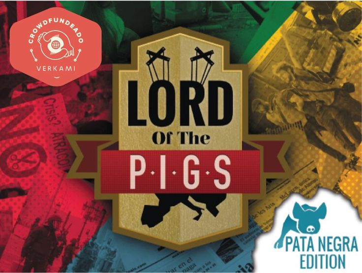 #JUEGODEMESA #PATANEGRA #CROWDFUNDING - The Lord of the P.I.G.S. es un juego de 3 a 4 jugadores sobre economía y sociedad, donde te convertirás en uno de los peces gordos de la no tan ficticia República de Meridia. Crowdfunding Verkami: http://www.verkami.com/projects/11235-the-lord-of-the-p-i-g-s-pata-negra/
