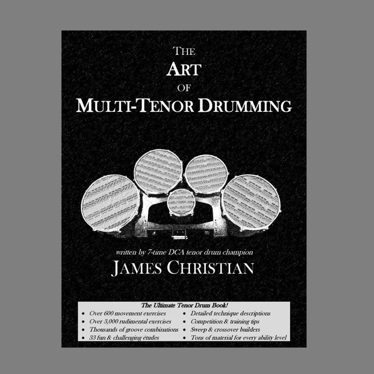 Art of multitenor drumming the drums drum lessons art