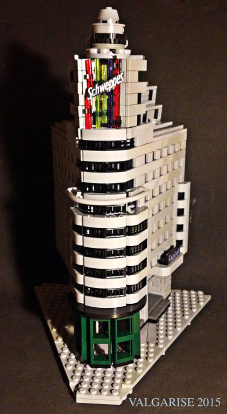 lego architecture madrid edificio carrion schweppes