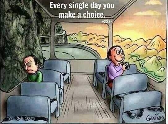 EVERY SINGLE DAY YOU MAKE A CHOICE  #jackcanfield #jackcanfieldquotes  #kurttasche