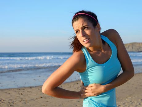 4 Ways To Ditch Side Cramps On Your Next Run Neuralgia Treatment Running Women Stomach Cramps