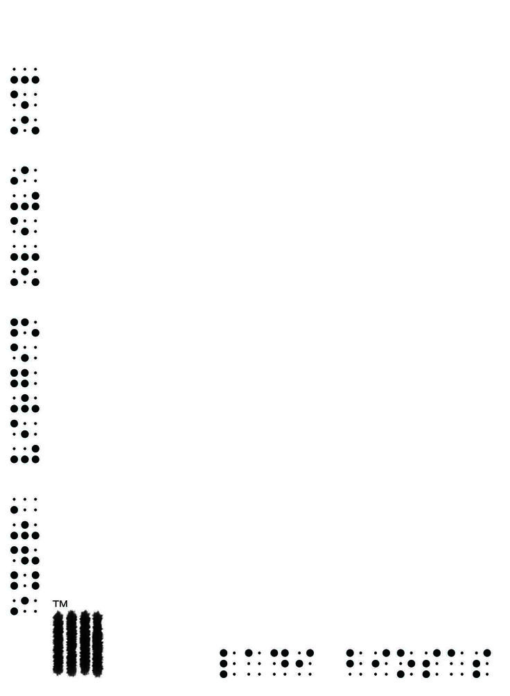 Ladi Biosas λάδι βιώσας Informative Card in Braille /ˈbreɪl/ for the blind and the visually impaired. Designed by LB Team