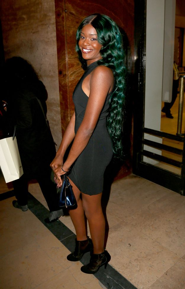 Azealia Banks Has Green Hair Now