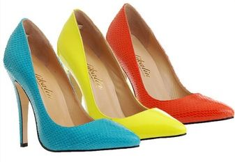 Genuine leather pumps. These are great for the office or even a quick stroll down the street.