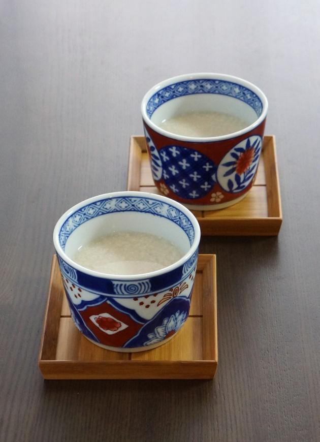 Japanese Low-Alcoholic Sweet and Hot Rice Drink   Amazake 甘酒
