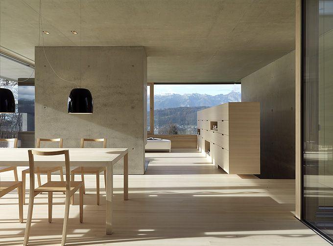Germann House | Feldkirch, Austria | marte.marte Architekten | photo © Bruno Helbling