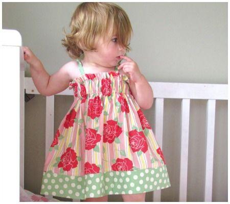 25 Darling DIY Summer Dress Patterns & Tutorials For Your Baby Girl! | Disney Baby