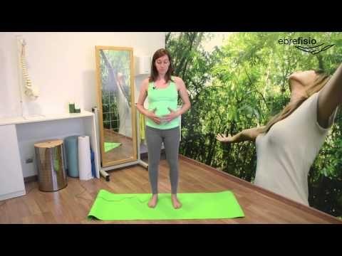 Ejercicios para embarazadas en el segundo trimestre - YouTube