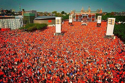 Kingsday schedulde Amsterdam - Day & Night!