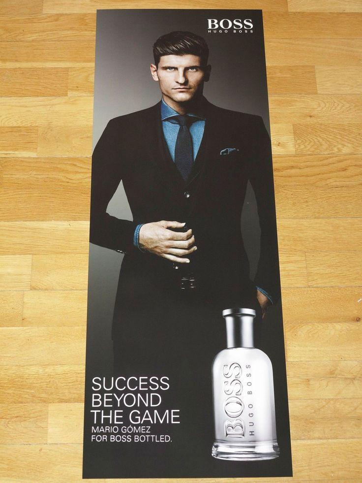 Mario Gomez Hugo Boss 2014 Promotional Promo Poster - Germany Forward