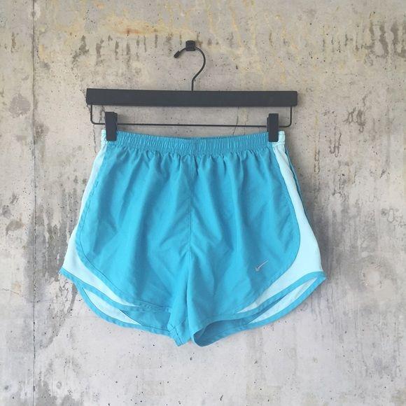 - nike tempo shorts Vibrant robin egg blue Nike tempo shorts.  No flaws.  True to size.  No trades Nike Shorts