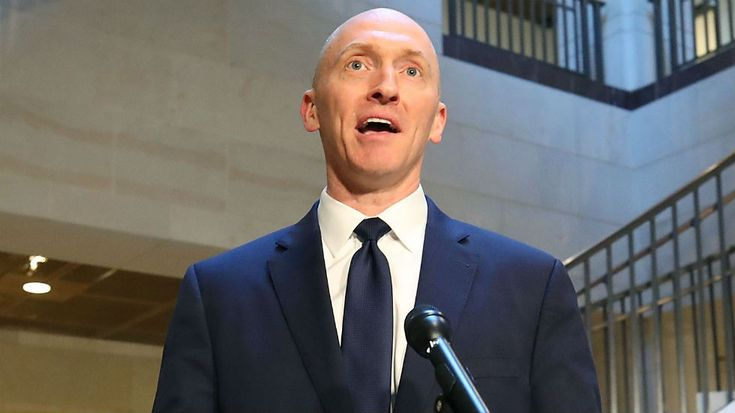 Carter Page, a former foreign policy adviser to President Trump's campaign, met Russian government officials on a trip to the country in July of last year, according to a Friday report.