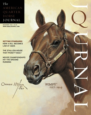 December 2012 American Quarter Horse Journal