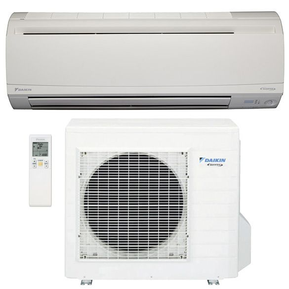 24 000 Btu Daikin Rxs24lvju 20 Seer Wall Mounted Ductless Mini Split Heat Pump Inverter Air Conditioner System In 2020 Heating And Cooling Ductless Mini Split Ductless