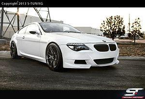 BMW E63 Frontstoßstange Front Stoßstange Spoiler Frontspoiler neu Body kit