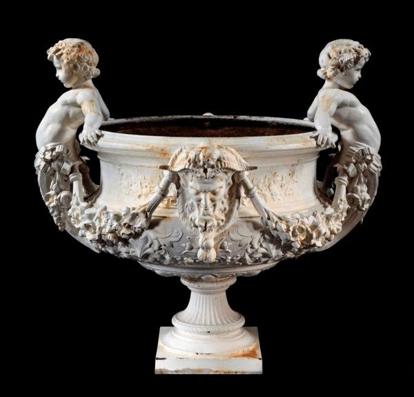 Garden Urn c. 1860 France ~~I have a reproduction like this. SVM