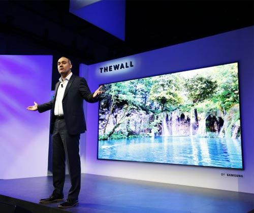 Samsung Launches Modular TV Called ''The Wall'' See More: