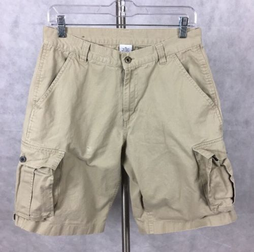 Lee Dungarees Khaki 32 Khaki Cargo Shorts. T-1