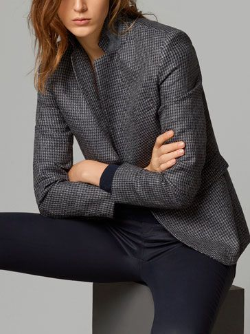 HOUND'S-TOOTH CHECK BLAZER - View all - Blazers - WOMEN - Canada