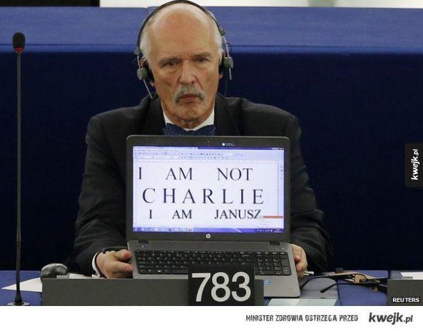 Nie nazywam się Charlie, tylko Janusz