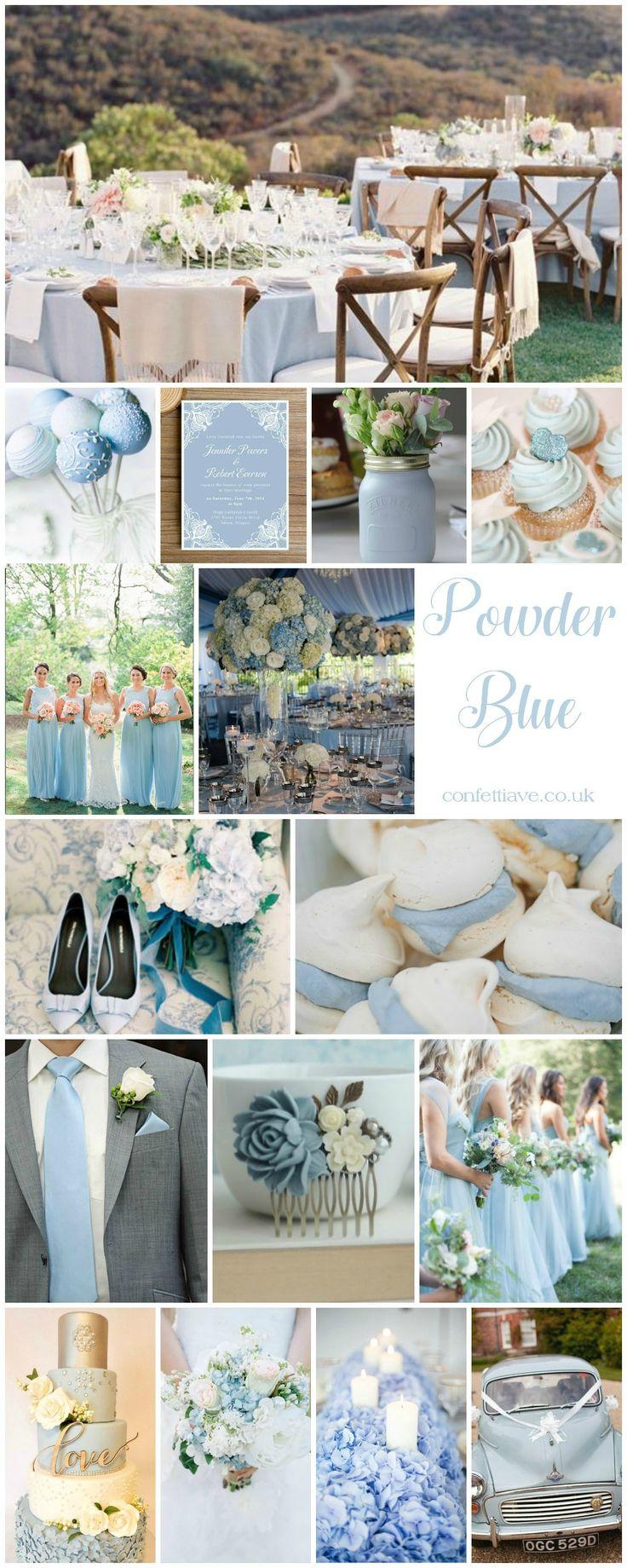 Powder Blue Wedding | Mood Board http://confettiave.co.uk/powder-blue-wedding http://hotdietpills.com/cat3/diet-pills-phenq-vs-phen375-ingredients.html