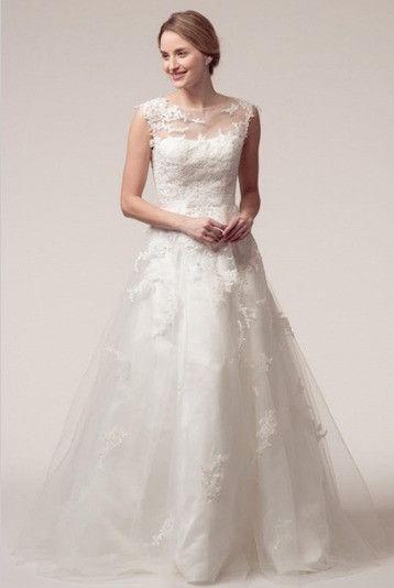 KCW1567 Lace A-Line Wedding Dress by Kari Chang Eternal
