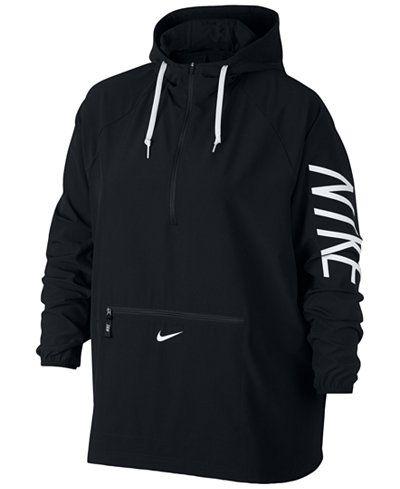 $75 // Nike Flex Plus Size Dri-FIT Packable Jacket