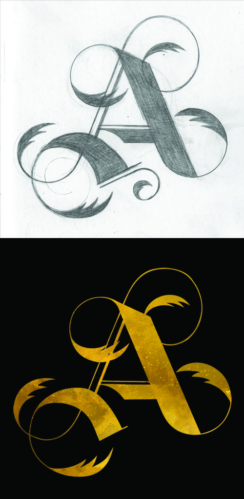 TheDailyGlyph | ShannonSnow's Golden A.