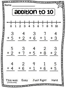 Number lines worksheets that are differentiated and fun!