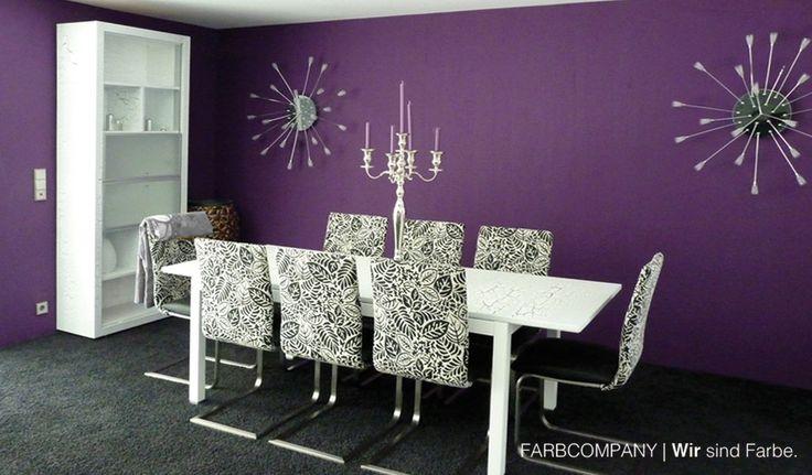 11 best Farbkonzept - Renovierung eines Wohnzimmers in Hannover mit - Wohnzimmer Modern Lila