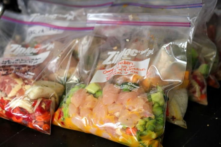 Freezer Meals - How to meal plan or prep for 21 Day Fix meals