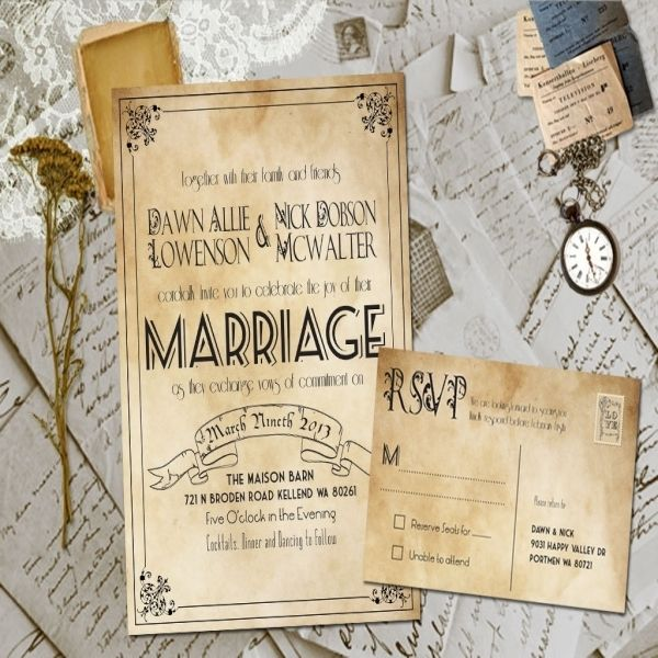 Cool 10+ Cheap Country Wedding Invitations