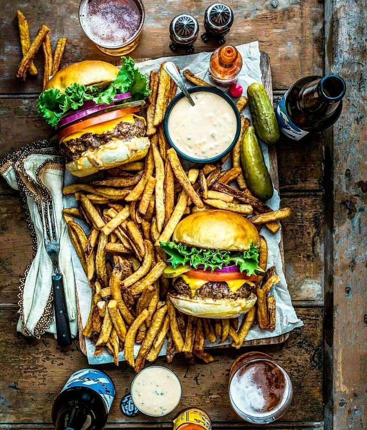 Burger. Fries. Beer. Like a boss! Blog: http://ift.tt/1vCV6pv Courtesy: Dennis the Prescott | @dennistheprescott #grill #grilling #bbq #barbecue #parrilla #asado #food #foodporn #newyearseve #nye #meat #meatlover #paleo #beef #wagyu #steak #burger #burgerporn #hamburger #fries #lobster #crab #surfandturf #seafood #animalsofinstagram #eeeeeats #chef #beautifulcuisines #f52grams #firemakeseverythingbetter . . . @shakeshack @foodrepublic @buzzfeedfood @foodgawker @foodbeast @thefeedfeed @gou...