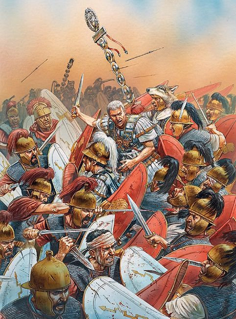 Caesar v boji