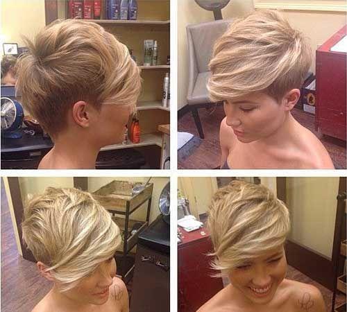 Ladies Trendy Short Hairstyles