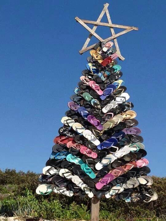 Sandal/Beach Christmas Tree